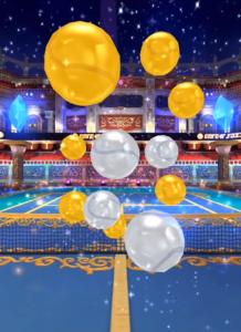 白猫テニス ガチャ演出1