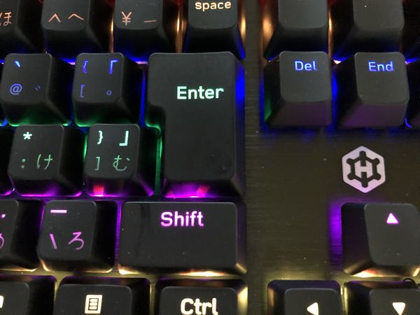 軸とは「メカニカルキーボード」のキースイッチのこと