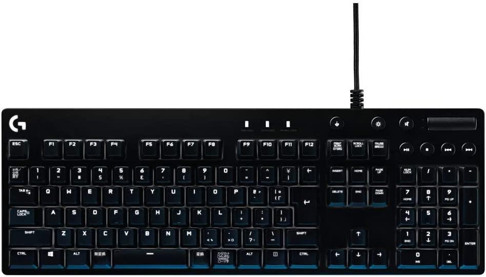 【ゲーミングキーボード】青軸おすすめ「G610」