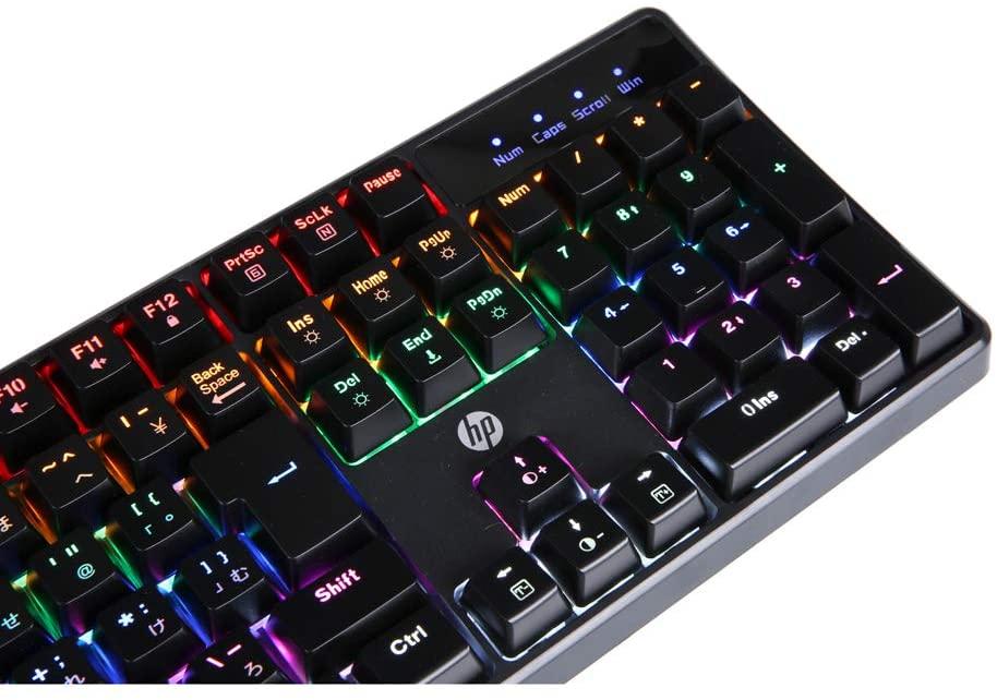 【ゲーミングキーボード】青軸おすすめ「HP GK320」